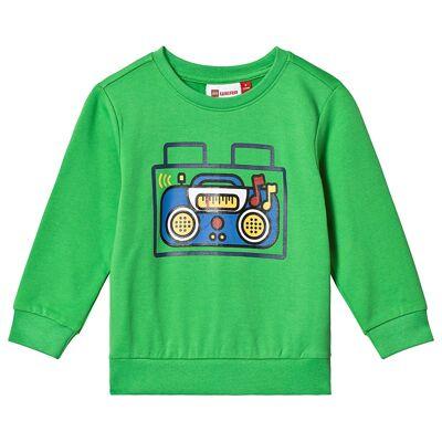 Lego Wear Sirius Sweat-Shirt Green 92 cm (1,5-2 år) - Børnetøj - Lego