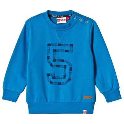 Lego Wear Trøje, DUPLO, Shay 601, Blue 80 cm - Børnetøj - Lego