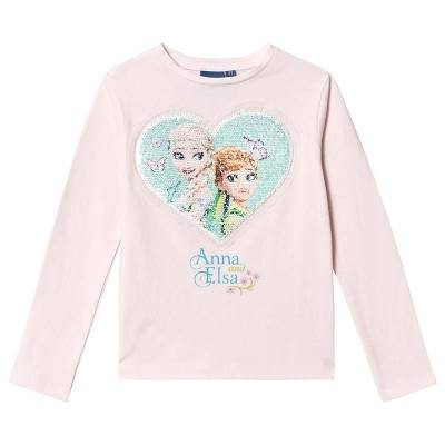 Disney Frozen Frozen T-Shirt Pink 8 år - Børnetøj - Disney
