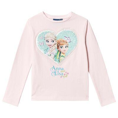 Disney Frozen Frozen T-Shirt Pink 6 år - Børnetøj - Disney