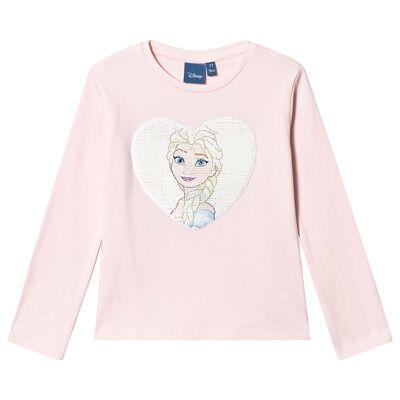 Disney Frozen Frost T-shirt Lys rosa 4 år - Børnetøj - Disney
