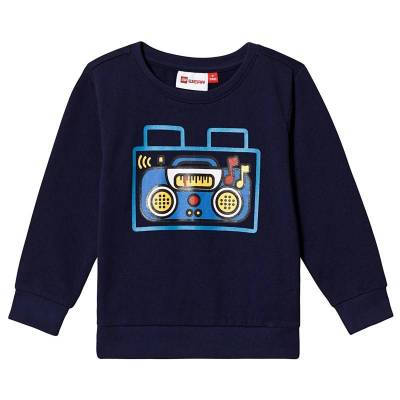 Lego Wear Sirius Sweat-Shirt Blue 86 cm (1-1,5 år) - Børnetøj - Lego