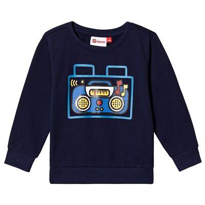Lego Wear Sirius Sweat-Shirt Blue 80 cm (9-12 mdr) - Børnetøj - Lego
