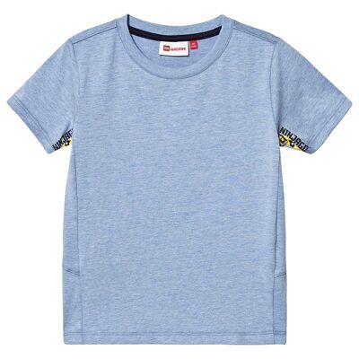 Lego Wear Tiger T-Shirt S/S Blue 104 cm (3-4 år) - Børnetøj - Lego
