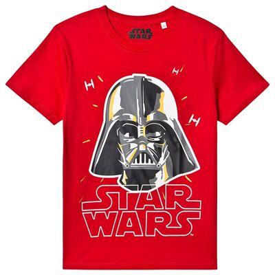 Star Wars Star Wars Ss T-Shirt Racing Red 152 cm (11-12 år) - Børnetøj - Star Wars