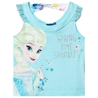 Disney Frozen Frozen T-Shirt Blue 12 mdr - Børnetøj - Disney