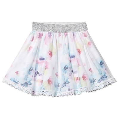 Disney Frozen Frozen Skirt White 4 år - Børnetøj - Disney