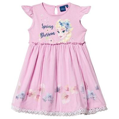 Disney Frozen Frozen Dress Pink 6 år - Børnetøj - Disney