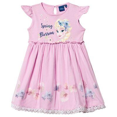 Disney Frozen Frozen Dress Pink 7 år - Børnetøj - Disney