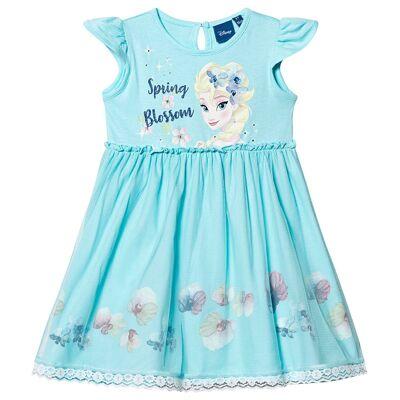 Disney Frozen Frozen Dress Blue 4 år - Børnetøj - Disney
