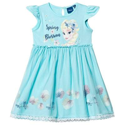 Disney Frozen Frozen Dress Blue 7 år - Børnetøj - Disney