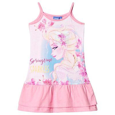 Disney Frozen Frozen Dress Pink 8 år - Børnetøj - Disney