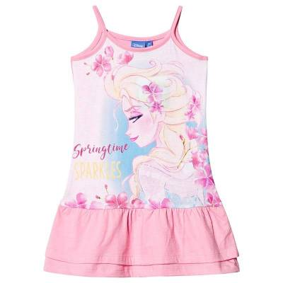 Disney Frozen Frozen Dress Pink 10 år - Børnetøj - Disney