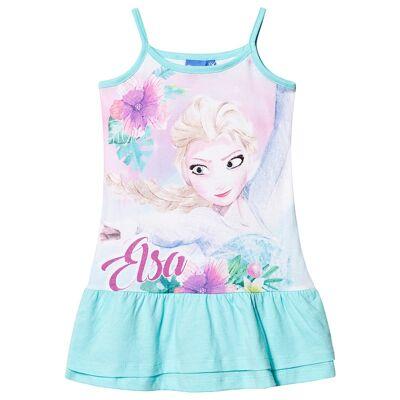 Disney Frozen Frozen Dress Blue 5 år - Børnetøj - Disney
