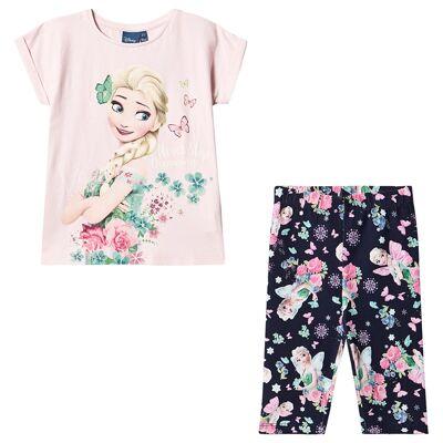 Disney Frozen Frozen Set Pink 7 år - Børnetøj - Disney