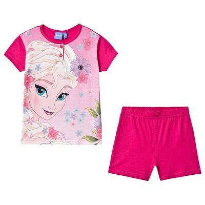 Disney Frozen Frozen Pyjamas Pink 7 år - Børnetøj - Disney
