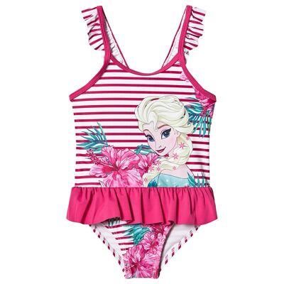 Disney Frozen Frozen Beachwear Pink 8 år - Børnetøj - Disney