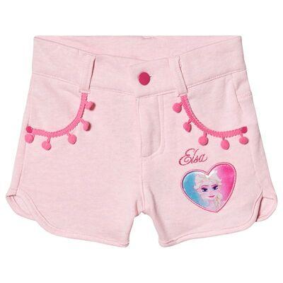 Disney Frozen Disney Frozen Shorts With Pompoms Orchid Pink/ Fandango Pink 140 cm (9-10 år) - Børnetøj - Disney