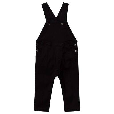 Hummel Laban Overalls Black Denim 80 cm (9-12 mdr) - Børnetøj - Hummel