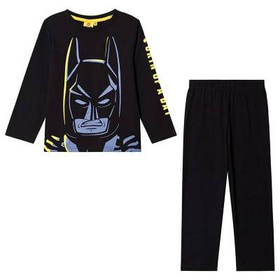 Lego Batman Lego Batman LS Pyjama Black 128 cm (7-8 år) - Børnetøj - Lego