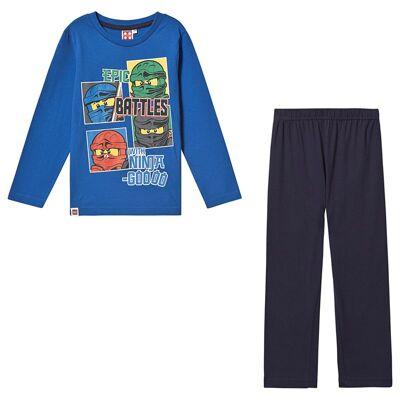 Lego NINJAGO Lego Ninjago LS Pyjama Princess Blue 116 cm (5-6 år) - Børnetøj - Lego