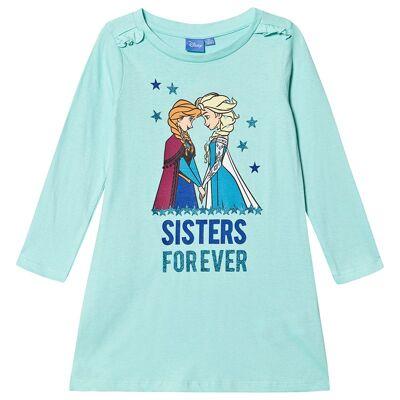 Disney Frozen Frozen LS Nightqown Aruba Blue 98 cm (2-3 år) - Børnetøj - Disney