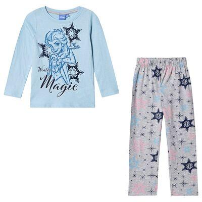 Disney Frozen Frozen LS Pyjama Blue Bell 110 cm (4-5 år) - Børnetøj - Disney