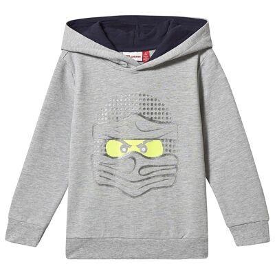 Lego Wear Sam Sweatshirt Grey Melange 122 cm (6-7 år) - Børnetøj - Lego