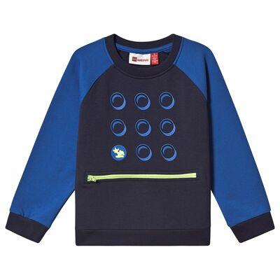 Lego Wear Solar Sweatshirt Dark Navy 98 cm (2-3 år) - Børnetøj - Lego