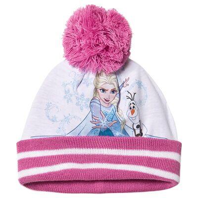 Disney Frozen Frozen Beanie Lilac Sachet/Super Pink 52 cm - Børnetøj - Disney
