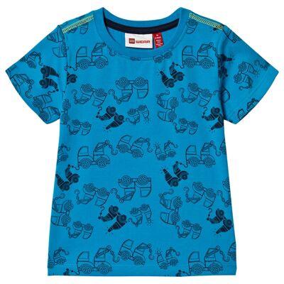 Lego Wear Tommas T-Shirt S/S Light Blue 98 cm (2-3 år) - Børnetøj - Lego