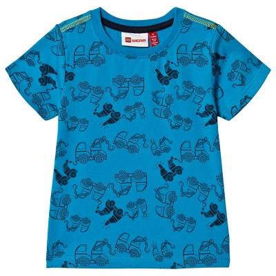 Lego Wear Tommas T-Shirt S/S Light Blue 80 cm (9-12 mdr) - Børnetøj - Lego