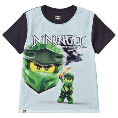 Lego Wear Ninjago T-Shirt S/S Light Blue 122 cm (6-7 år) - Børnetøj - Lego