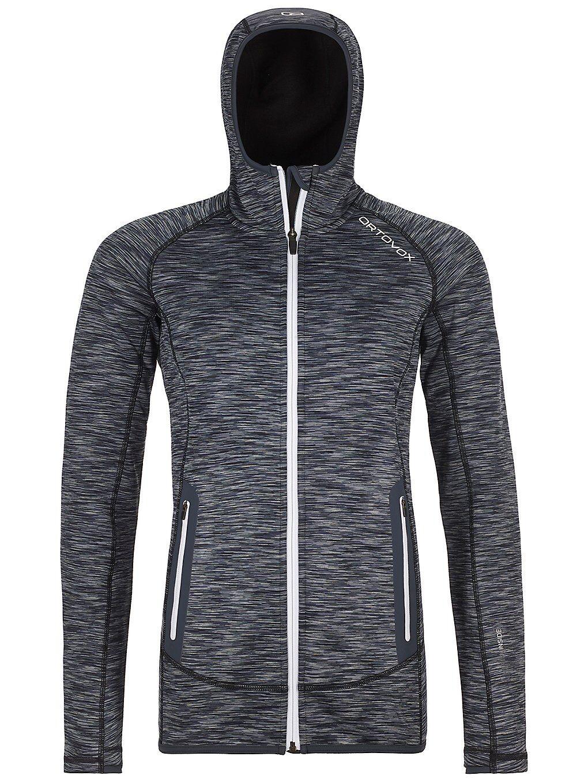 Ortovox Space Dyed Hooded Fleece Jacket sort