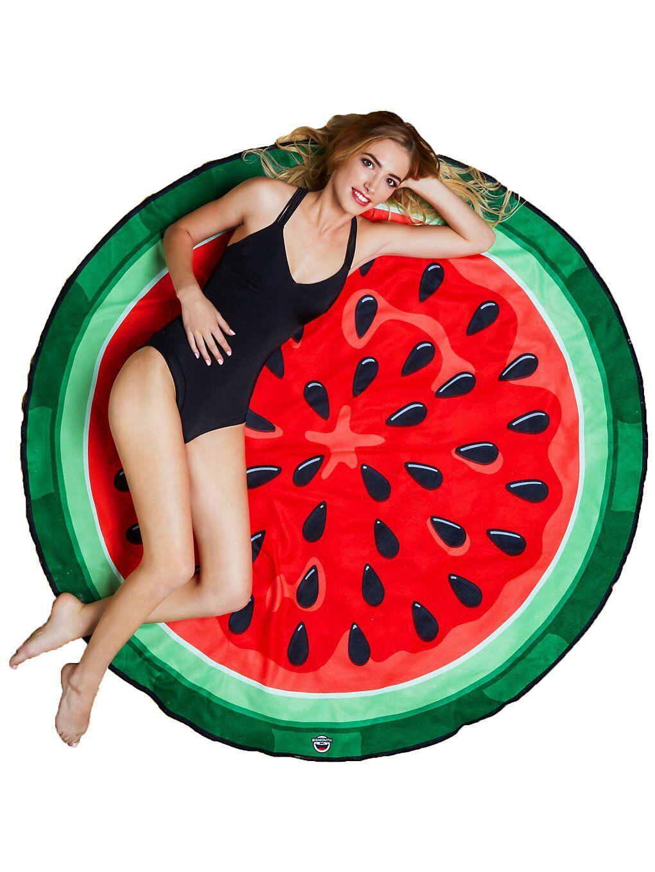 Big Mouth Toys Watermelon Beach Towel mønster