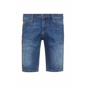 HUGO Slim-fit shorts in washed stretch denim