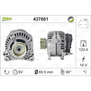 VALEO Generator, VALEO, b.la. til VW, 14 V