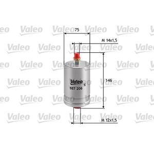 VALEO Brændstoffilter, VALEO, b.la. til Porsche~Mercedes-Benz~Puch~Ferrari