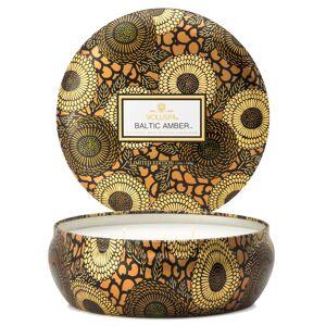 Voluspa Baltic Amber 3-Wick Tin Candle 40h