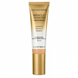 Max Factor Miracle Second Skin Foundation 04 Light Medium