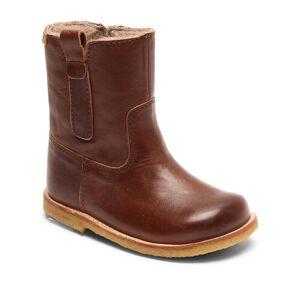 Bisgaard vinterstøvle m/tex - Dark Brown