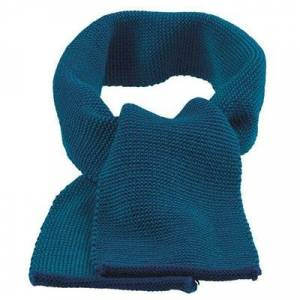 Disana halstørklæde i uld - Navy-Blue