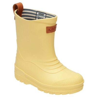 Kavat gummistøvler, Grytgöl - Light yellow - Børnetøj - Kavat