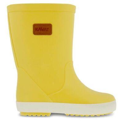 Kavat gummistøvler, Skur WP - Light Yellow - Børnetøj - Kavat