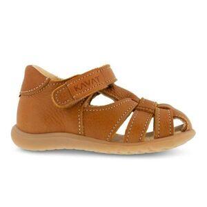Kavat sandal m/lukket tå, Rullsand EP - Light Brown