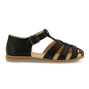 Kavat sandal til voksne m/spænde, Lotta - Black