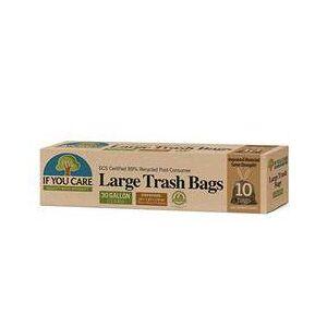 If You Care sunde affaldsposer med snørreluk, 113 liter