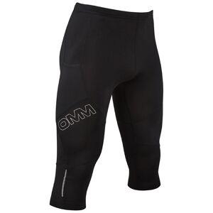 OMM Flash Tights 0.75 - XS Sort   Shorts