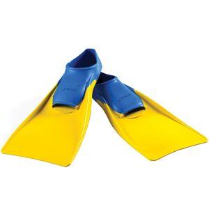 Finis - Lang Floating Fin Senior - US 1-3 Blue / Yellow   Svømmefinner