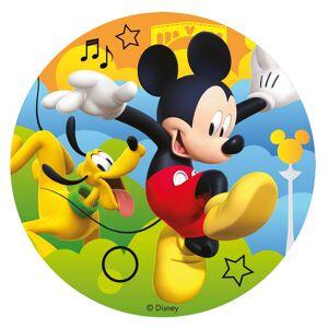 Mickey Mouse kageprint 16 cm. - Sukkerfri